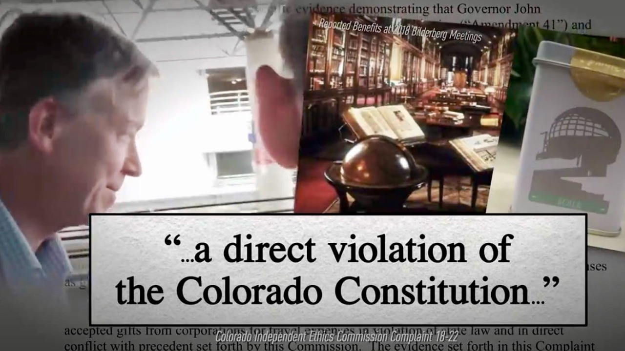 Bilderberg In The News: Colorado Governor Caught