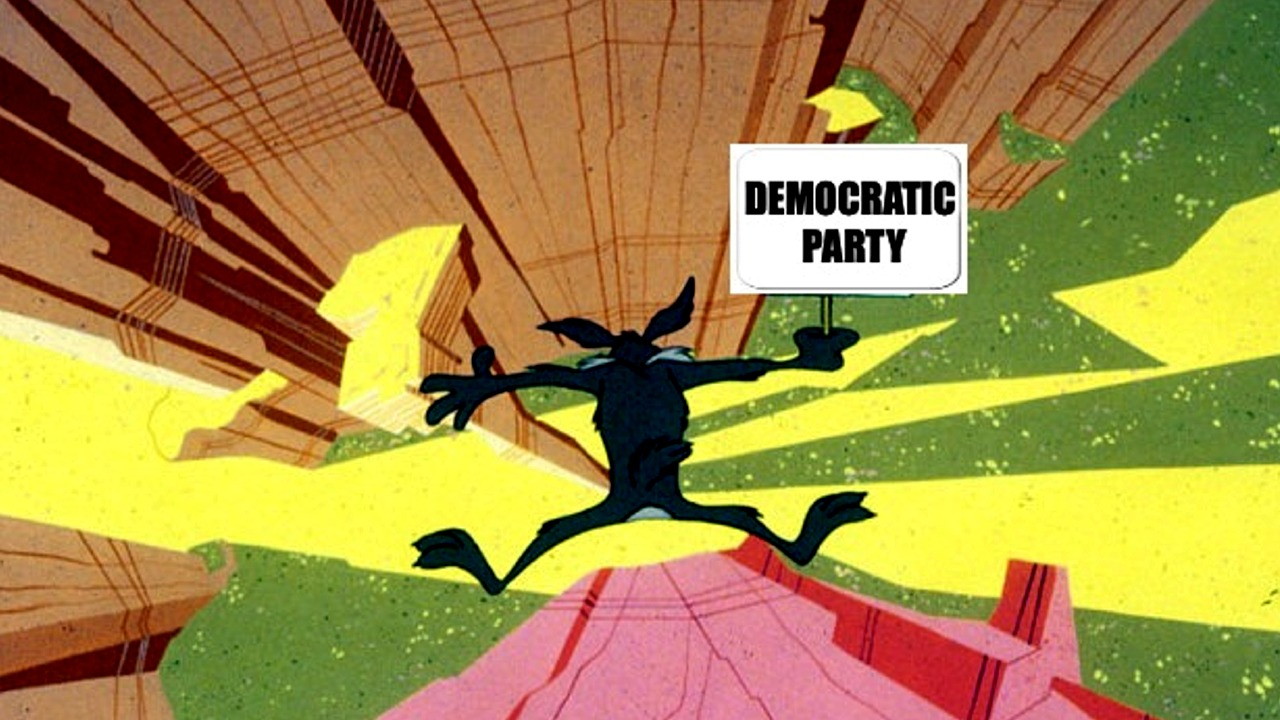 Democratic Party Over the Edge