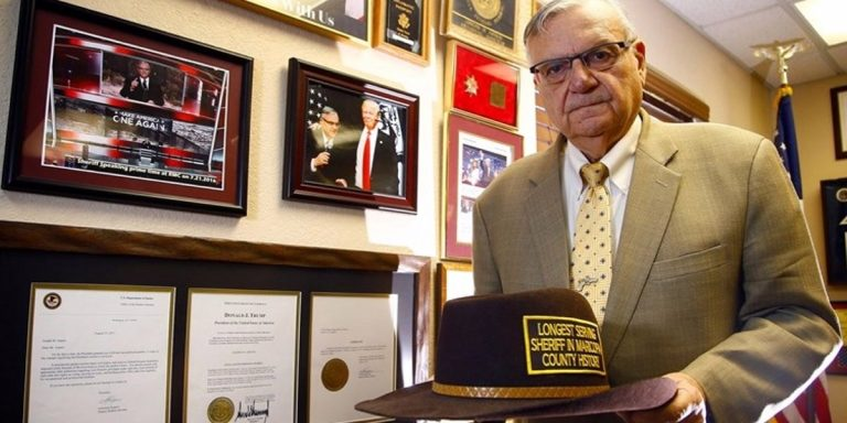 Joe Arpaio Has Contracted A Case of the Four-Year Itch